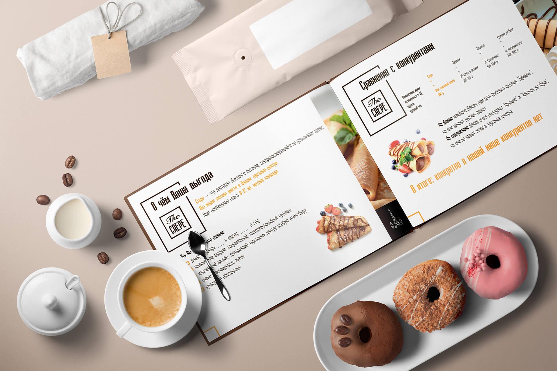 Презентация для аренды в торговом центре (ТЦ), образец в pdf