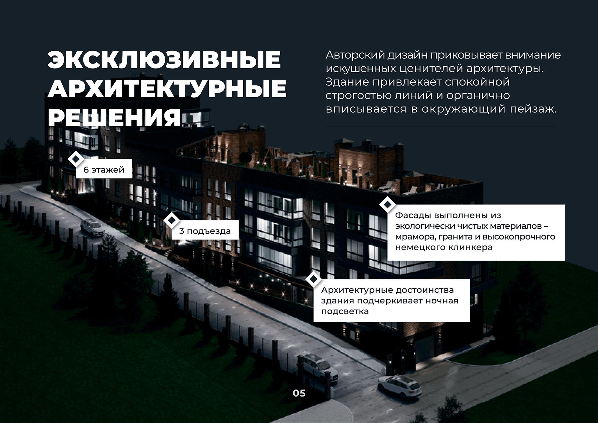 Презентация многоквартирного дома, жилого микрорайона, квартала