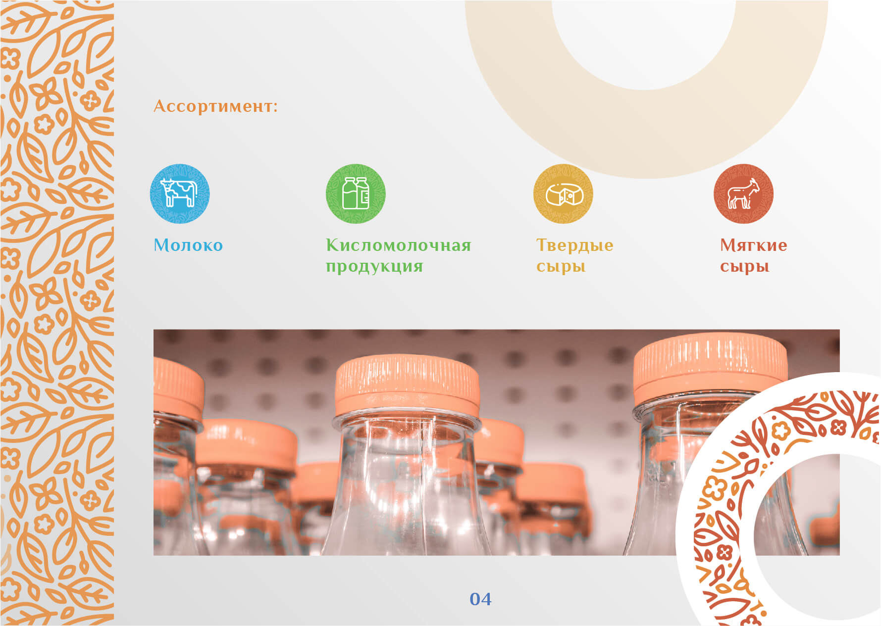 Дизайн упаковки молочной продукции: молока, кефира, творога, йогурта